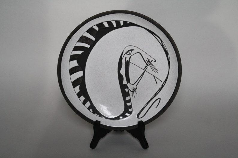 Brutal Joop Puntman Cobra wall plate 1950s Holland image 0