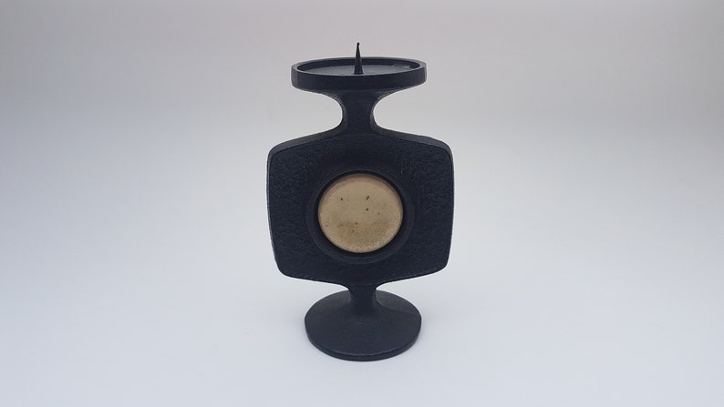 Brutalist Candle Holder by Casper Guss 1960s image 0