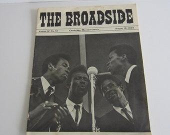 The Broadside Folk Music and Coffeehouse Magazine August 18, 1965