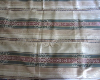 Vintage 1950s Upholstery Weight Fabric