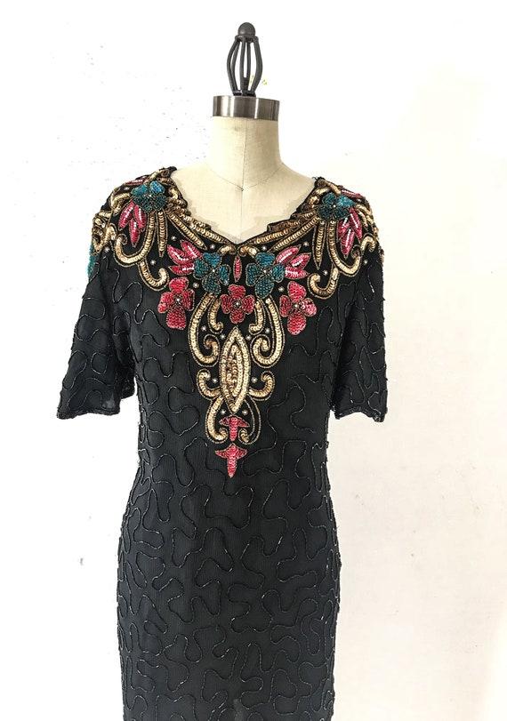 80s Vintage Clothing 80s VINTAGE DRESS 80s Formal… - image 2