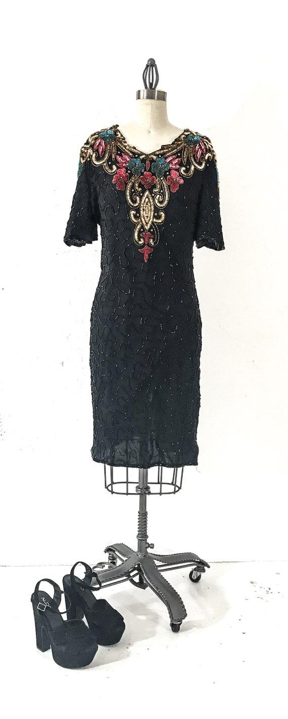 80s Vintage Clothing 80s VINTAGE DRESS 80s Formal… - image 3