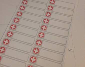 Medical Appointment Stickers