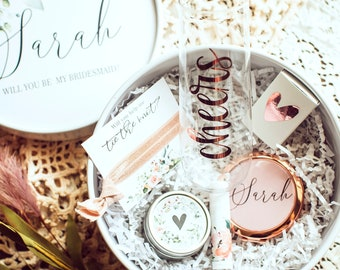 Will You Be My Bridesmaid Proposal Box Will You Be My Bridesmaid Box I cant say I do without you Bridesmaid Proposal Box