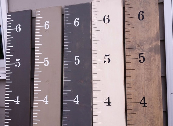 Custom Giant Ruler Childrens Giant Ruler Growth Chart Etsy