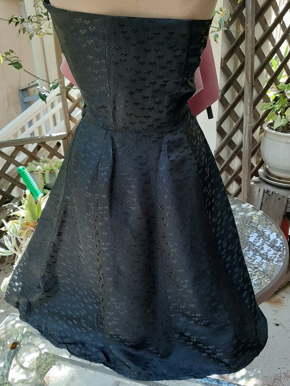 1950's Halter Swing Dress Sm - image 3