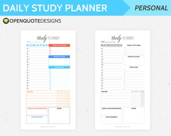 printable student planner kit student organizer printable etsy