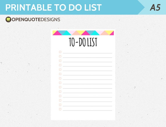 a5 filofax printable to do list filofax to do list printable. Black Bedroom Furniture Sets. Home Design Ideas