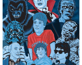 The Monster Squad Poster *Color Variant*