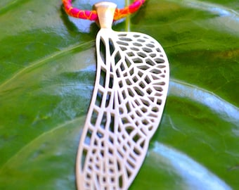 Dragonfly Wing in Sterling Silver - Dragonfly Jewelry - Insect Wing - Insect Jewelry