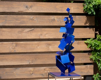 Outdoor/Indoor Metal Sculpture Art Modern Abstract Garden Decor Contemporary Mid Century Modernist by Petrykowski Artworks