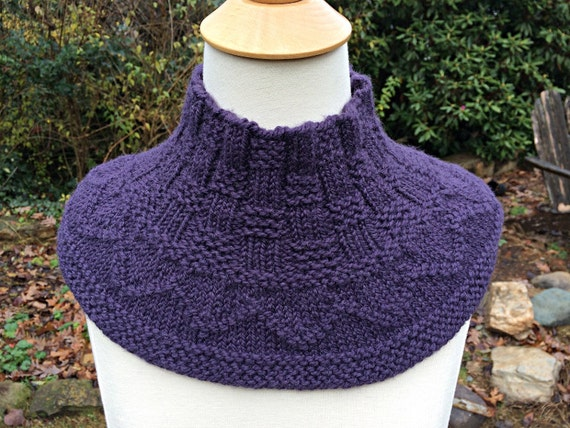 Extra Extra Cowl Quick Top Down Cowl Knit In The Round With Etsy