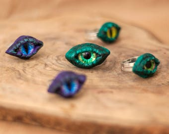 Monster Ring, Monster Eye Rings, Loch Ness Monster, Statement Ring, Dragon Ring, Mother of dragons, Dragon Eye, Fantasy Ring, Eye Ring
