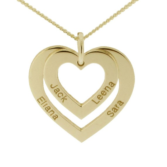 9ct 9k white gold gf love heart solid BEST MUM Necklace mother/'s day gift