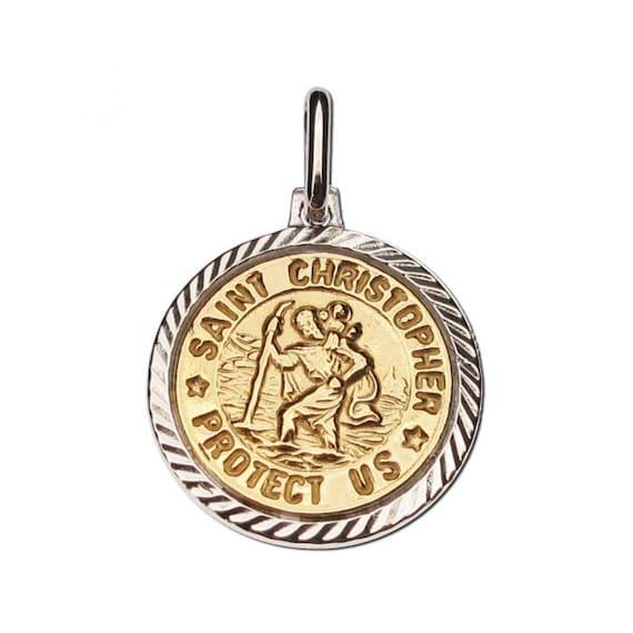 925 Sterling Silver Antiqued Star of David Medal 21mm x 18mm