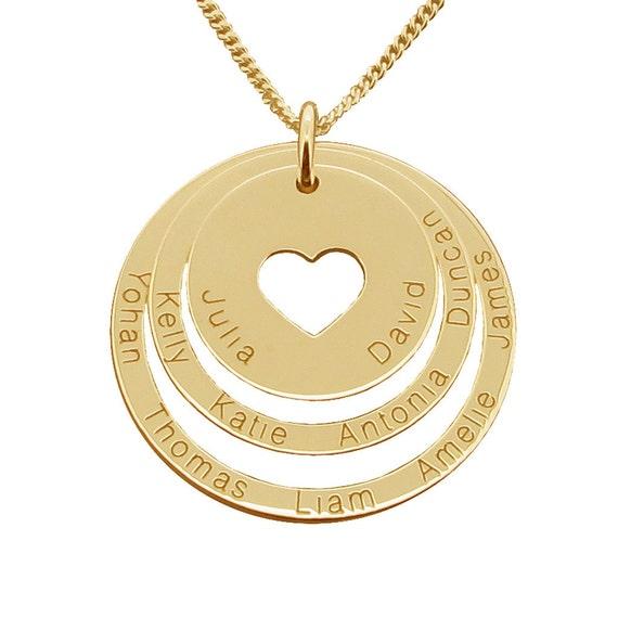 collier prenom anneaux