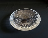 Waterford Fine Crystal Ashtray Large Heavy Cigar Ready Ashtray in Waterford 39 s Colleen Pattern Impressive and Beautiful