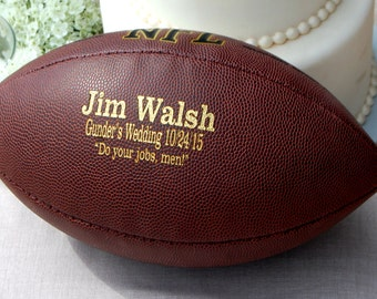 eb9f813376c Personalized Game Day Football, Custom Tailgate Football, Gifts for Men, Engraved  College Football, Football Gift Ideas for Men