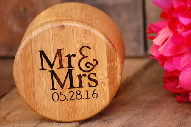 Mr And Mrs Wedding Ring Box Ring Bearer Box Wedding Ceremony