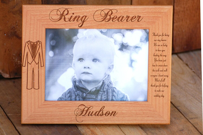 Ring Bearer Gift Personalized Ring Bearer Frame Custom | Etsy