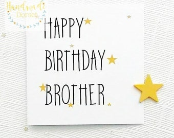Card For Brotherbrother Cardbirthday Brotherhappy Birthday BrotherBrothers Cardspecial Brother Cardfor My