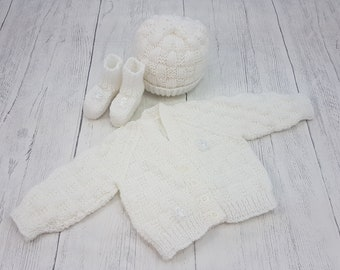 3bc3b2939d46 Preemie baby sweater