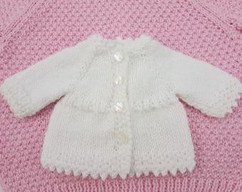 "Waldorf Doll sweater/dress (fits 14"" dolls), Rubens Barn Cutie, Bamboletta Baby, 14"" dolls clothes."
