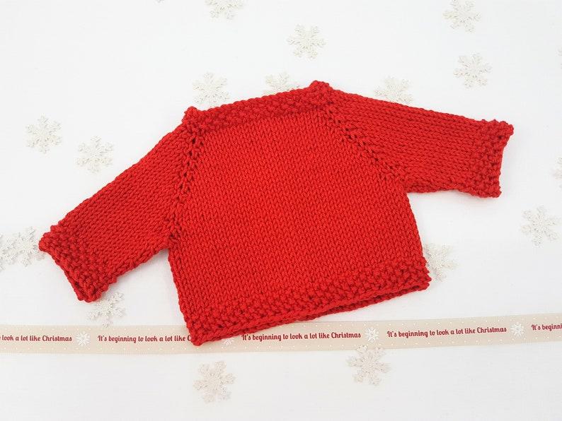 Waldorf Doll Sweater Fits 14 Dolls Rubens Barn Cutie Etsy