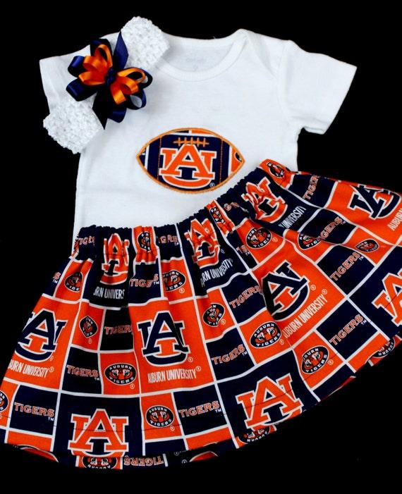 Auburn University girl s 3pc bodysuit set  81326f356