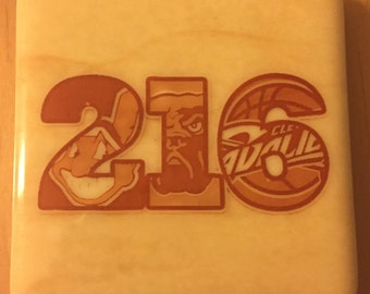 216 Cleveland Sports Coasters