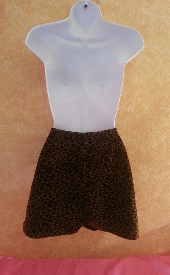 Fit Leopard amp; Flair Dress Animal Custom Only Skater Sexy Mini Order Bridal Skirt Party Print Listing 1A1Iq0H