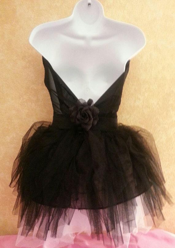 fabrics Tutu colors amp; and Sexy Mini Wedding Black Dress Bridal Neckline Party Tulle Club Corset Sweetheart more Formal White USpSaKq0