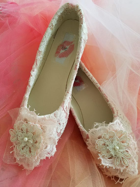 Designed and Removable Satin 3D Prom Ballet Wedding Strap Flats Romantic Ankle Bridal Quinceanera Custom Club Shoes Lace Party W5IwUq