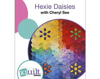 iQuilt DVD Hexie Daisies by American Quilter's Society
