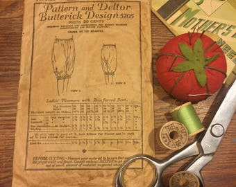 Antique Butterick Sewing Pattern from 1923