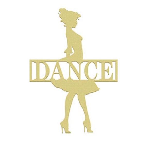 Dance Frame Name Unfinished Framed Monogram Wooden Wall   Etsy