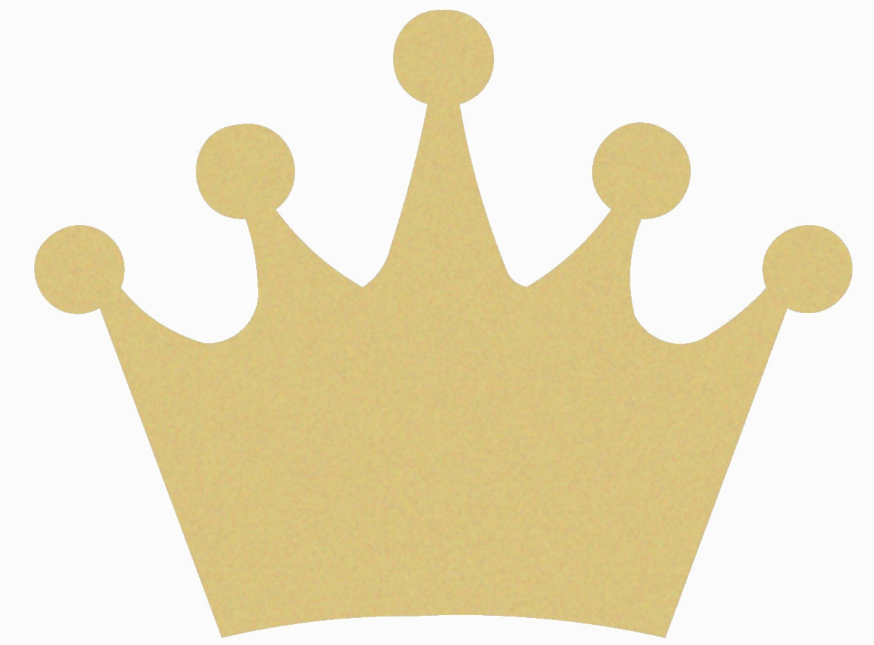 Crown Craft Wooden Unfinished Shape Paintable   Etsy