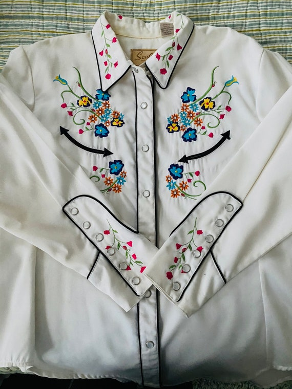 Scully Western Shirt