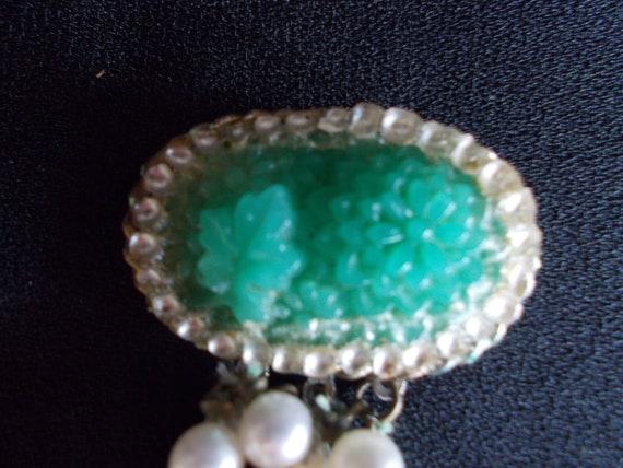 Vintage 6 Strands Faux Pearl Necklace - image 8