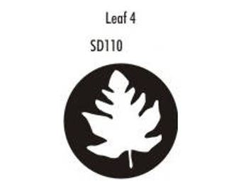 Stock Clay Stamp - Leaf #4  (SD110)