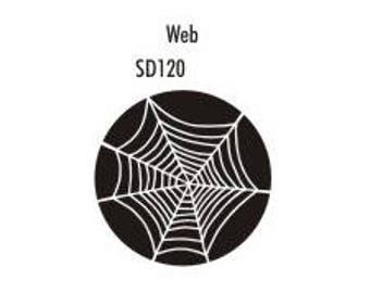 Stock Clay Stamp - Web  (SD120)