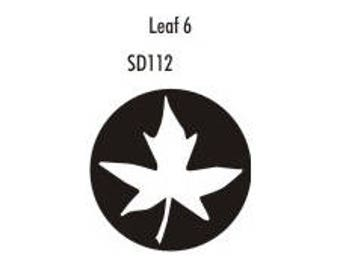 Stock Clay Stamp - Leaf #6  (SD112)