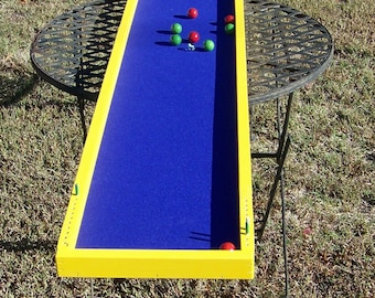 Bocce ball, mini, tabletop game, lawn game, wooden game, board game, yard game, party, holiday, birthday, church, camp, campground, gift