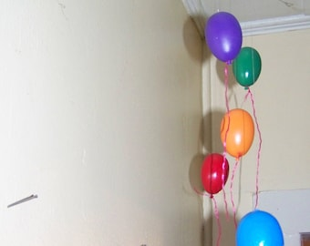 Balloons, wooden balloons, mini balloons, parties, baby's room, kids room, office parties, decoration, birthday