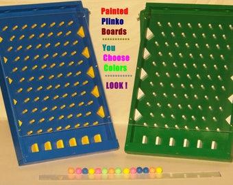 Plinko, plinko game, plinko board, trade show, drinko, board game, game room, drinking game, party game, tailgating, craft show, ball drop
