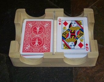 Playing Card Holder/Rack