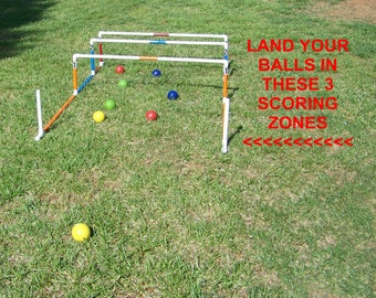 Bocce ball, shuffleboard, cornhole, lawn bowling, lawn game, yard game, party game, outdoor game, tailgating game, events, family fun,