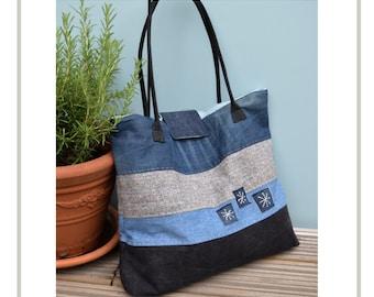 PDF Large Denim Tote Bag Pattern