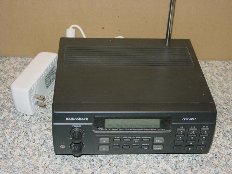Radio Shack Scanner Model PRO 2044 - 80 Channels -Free Ship-