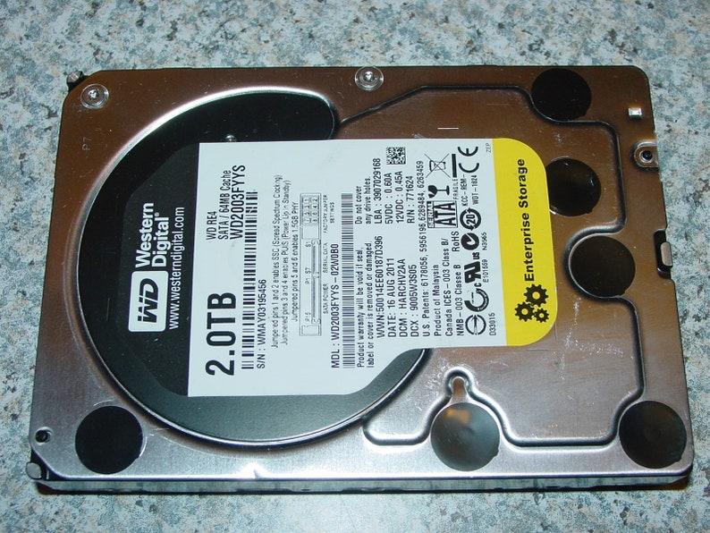 Western Digital WD2003FYYS 2TB (2000GB) 3 5